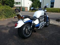 """Great bike, great pic from a kind customer of ours Michael from Bristol, Avon!  <3 """"Excellent - Fantastic - Great Mirrors really made for a Rocket 3"""""""