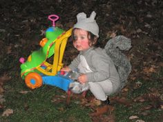 Basic squirrel costume - how to