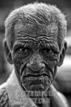 Smoking is found to increase lines on the face. Also genes plays a large part in the wrinkle factor Old Faces, Face Wrinkles, Aged To Perfection, Old Men, Ancient Art, Black People, Portrait Photography, Old Things, Stock Photos