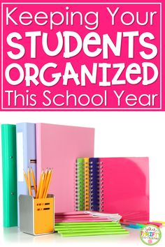These student organization ideas for upper elementary will help students get organized at school. Classroom Routines, Classroom Management Strategies, Classroom Procedures, Classroom Jobs, Student Supply Organization, Notebook Organization, Classroom Organization, Organization Ideas, Upper Elementary
