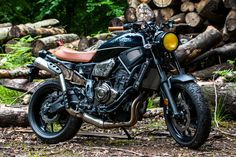 YAHAMA XSR700 'THE PINION SON' By Piers Berry (Founder, Pinion Watch Company)