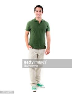 Stock Photo : Young man on white background