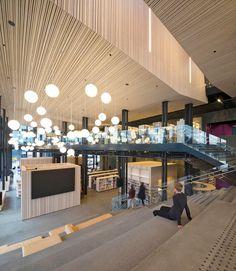 The Cultural Center of Stjørdal, Stjørdal, 2015 - Reiulf Ramstad Arkitekter