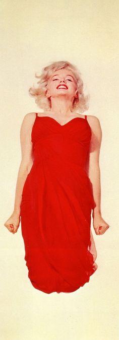 Marilyn Monroe by Phillipe Halsman, Jumping, 1959