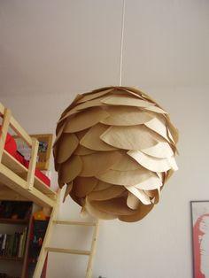 DIY Lampe, Tags Lampenschirme selber machen + Hängelampe + Lampenschirm