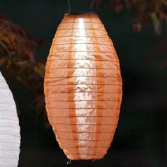 Japanese Garden and Outdoor Solar Paper Lanterns Outdoor Solar Lanterns, Solar Lantern Lights, Solar String Lights, Unique Lighting, Outdoor Lighting, Solar Paper, Japanese Lighting, Tangled Lanterns, Modern Magic