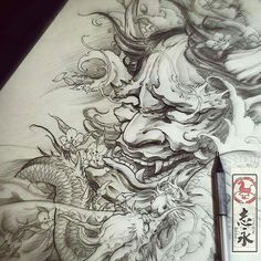 #Repost from @art_motive - Artwork by artist @zhiyong_tattoo #artinspires #theartisthemotive .
