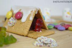 basteln mit kindern butterkeks haus selber machen rezepte pinterest butterkekse. Black Bedroom Furniture Sets. Home Design Ideas