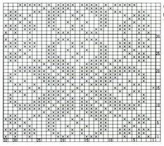 Fair Isle Knitting Patterns, Knitting Charts, Knitting Stitches, Star Patterns, Knit Patterns, Christmas Charts, Star Chart, Filet Crochet, Loom Beading