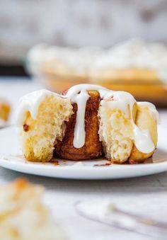Homemade Cinnamon Rolls with Cream Cheese Frosting #cinammonrolls #cheesecake #recipe