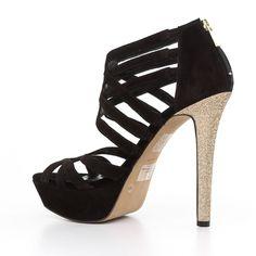 Γυναικεία Παπούτσια Jessica Simpson Πέδιλα / Σανδάλια Mαύρο | All About Shoes