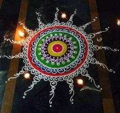 Sanskar Bharti Diwali Rangoli Designs Source by Simple Rangoli Designs Images, Rangoli Designs Flower, Rangoli Patterns, Colorful Rangoli Designs, Rangoli Ideas, Rangoli Designs Diwali, Diwali Rangoli, Flower Rangoli, Beautiful Rangoli Designs