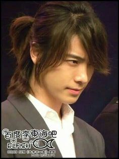Long-haired Donghae hnggg