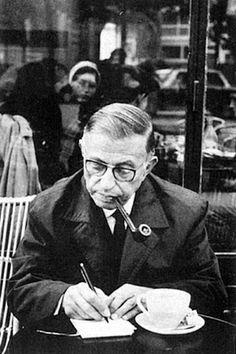 """Jean Paul Sartre (filosofo) ::: """"The best work is not what is most difficult for you; it is what you do best."""""""