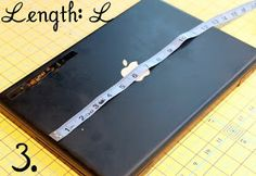 The Cottage Home: Laptop / Kindle / I-Pad Sleeve Tutorial