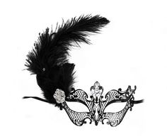 Ciara Ostrich Feather Bejeweled Decorated by SuccessCreations