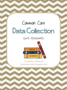 Kindergarten teachers you will want this.   Common Core aligned data collection using common assessments.