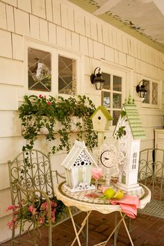 images about Bird house decor on Pinterest