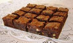 brownie com nozes no dia 02/02/2013