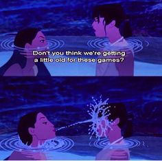 Pocahontas - no, I don't think so, bff's do stupid things together until they're old