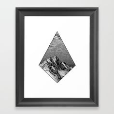 Over the Edge Framed Art Print by Christa Rijneveld. Worldwide shipping available at Society6.com. Just one of millions of high quality products available.