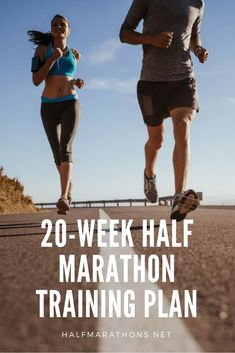 This plan starts slowly with four days of running each week over the first six weeks, later transitioning to five days of running each week as the calendar proceeds further into the training Running Plan, Running Workouts, Running Tips, Half Marathon Plan, Half Marathon Training Schedule, Race Training, Heath And Fitness, Start Losing Weight, How To Run Faster