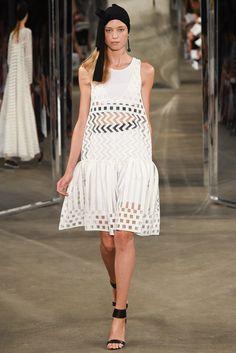 Milly Spring 2015 Ready-to-Wear Fashion Show - Tessa Bennenbroek
