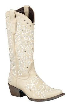 0f542eb5af01 392 Lane Boots Willow Ivory Women s Cowgirl Boots (LB0045C) Womens Cowgirl  Boots