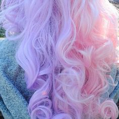 Pastel hair hair dyed hair, hair styles и hair color pink Cotton Candy Hair, Pastel Pink Hair, Pink Purple, Pastel Goth, Light Purple, Pretty Pastel, Pink Color, Pastel Hair Colour, Pink Girl