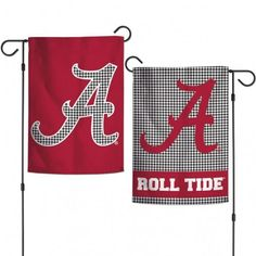 Must have product now available: Wincraft Alabama ... Get it here! http://www.757sc.com/products/wincraft-alabama-garden-flag?utm_campaign=social_autopilot&utm_source=pin&utm_medium=pin Logo Garden, Garden Stand, University Of Alabama, Garden Flags, Crimson Tide, Houndstooth
