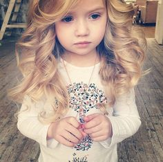 You know life sucks when a little girl is 10x prettier than you are! | http://hairstyles-for-women-over-50.com/