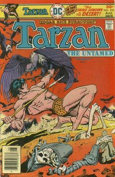 A cover gallery for the comic book Tarzan of the Apes Old Comics, Vintage Comics, Comic Book Covers, Comic Books, Caricature, Tarzan Series, Robert E Howard, Pulp Fiction Comics, Tarzan Of The Apes