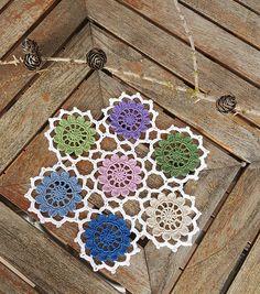 Ravelry: Blomsterhjul pattern by Torunn Olsson