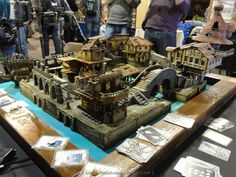 Freebooter's Fate Demo at Crisis 2012 #freebootersfate #tabletop