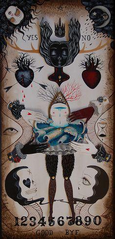 Jennybird Alcantara by Hi-Fructose Magazine, via Flickr