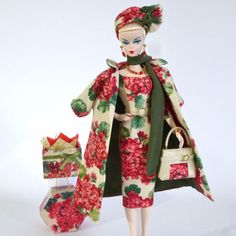"OOAK Handmade Vintage Barbie/Silkstone Fashion by Roxy- ""SCARLET STAR "" #Roxy"