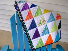 Quiltmamas: A quick baby quilt...