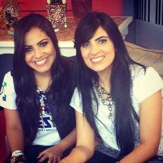 Gabriela Rocha e Fernanda Brum