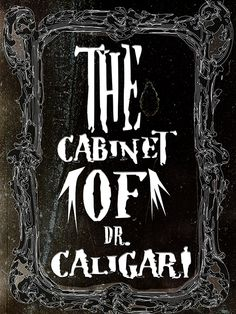 This+poster+is+my+original+design+for+the+film+The+Cabinet+of+Dr.+Caligari+the+1920+silent+horror+legend.+The+first+photo+is+the+digital+image,+the+second+is+a+photo+of+the+poster+I+took.+The+lighting+could+be+better,+its+brighter+in+person.