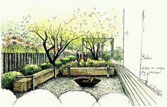 Ogród w Berlinie 3