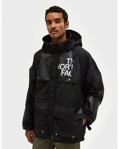 Junya Watanabe   Black The North Face Duffle Bag Wool Jacket for Men