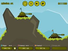 Tank-Tank - Good old Scorch strikes again - pretty nice graphics #flash #game