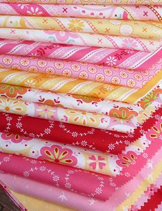 Red Pepper Quilts: Sunday Stash #80 - Sweet Broderie