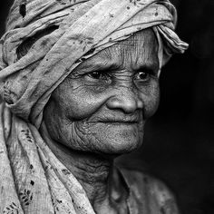 wrinkled face by yaman ibrahim, via Flickr