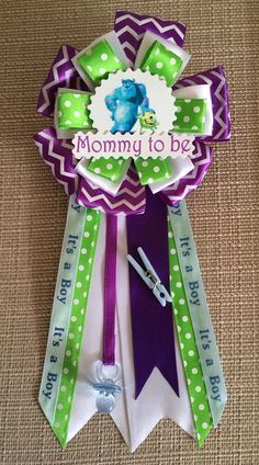 Monsters inc baby shower cake by lavish Lucy Baby shower