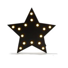 Wall Star with Led Lights
