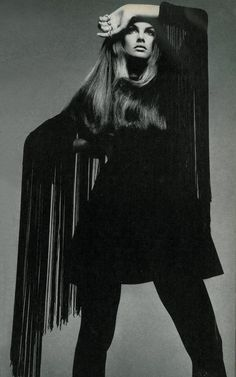 Jean Shrimpton by Richard Avedon, 1968.