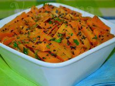 Salada de Cenoura com Molho de Gergelim ~ Veganana