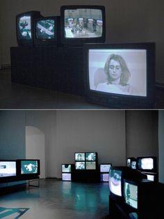 Valie Export, video installation at Charim Galerie, 2012