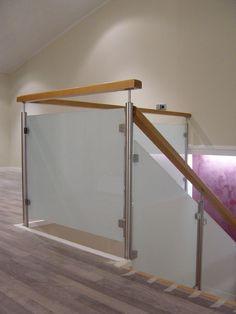 barandillas y barandas de cristal para escaleras de obra escaleras de madera escaleras metlicas